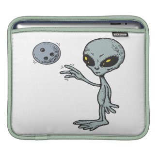 Bowling Is Out Of This World iPad Sleeve