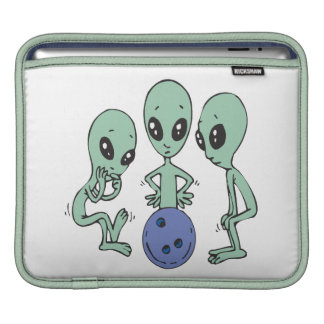 Bowling Is Out Of This World iPad Sleeves