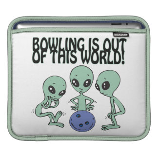 Bowling Is Out Of This World Sleeve For iPads