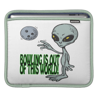 Bowling Is Out Of This World Sleeves For iPads