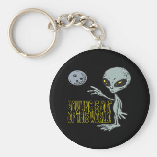 Bowling Is Out Of This World Keychain