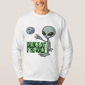 Bowling Is Out Of This World T Shirt