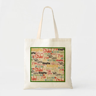 Bowling Is Right Up My Alley Canvas Bags