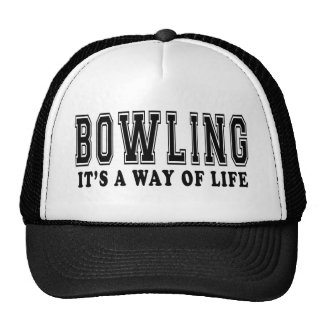 Bowling It's way of life Trucker Hat
