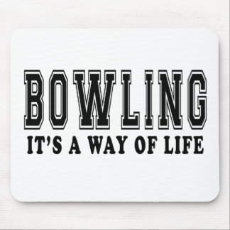 Bowling It's way of life Mouse Pad