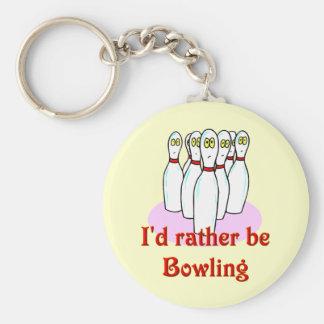 bowling keyring keychains