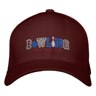 Bowling Kid Embroidered Baseball Hat