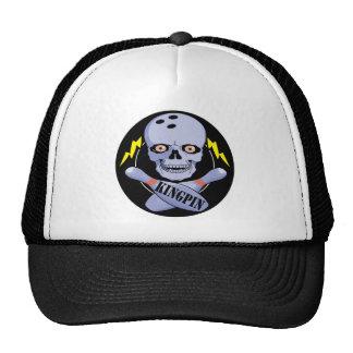 Bowling Kingpin Trucker Hat