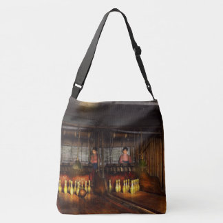 Bowling - Life in the gutter 1910 Crossbody Bag
