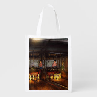 Bowling - Life in the gutter 1910 Grocery Bag