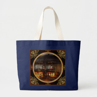 Bowling - Life in the gutter 1910 Large Tote Bag