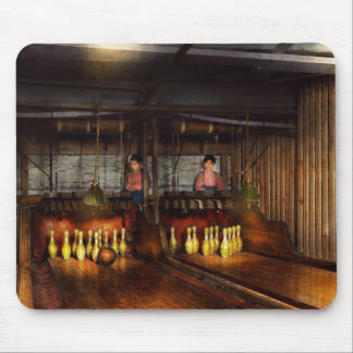 Bowling - Life in the gutter 1910 Mouse Pad