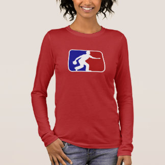 Bowling liga long sleeve T-Shirt