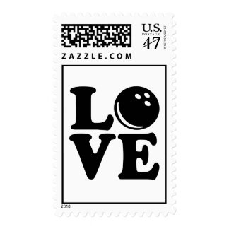 Bowling love stamp