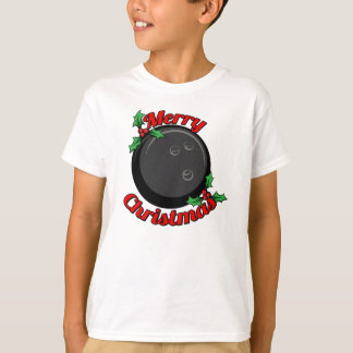 Bowling Merry Christmas T-Shirt