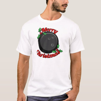 Bowling Merry Christmas T-Shirt