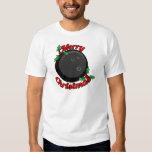 Bowling Merry Christmas T-shirts