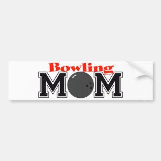 Bowling Mom Bumper Sticker