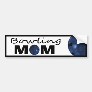 Bowling Mom Bumper Sticker