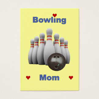 Bowling Mom Business Card