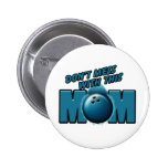 Bowling Mom Buttons