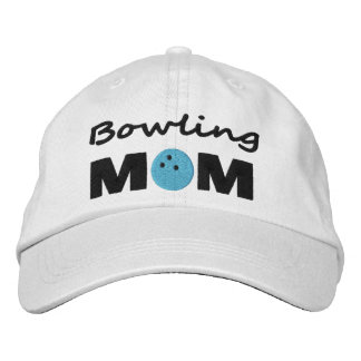 Bowling Mom Embroiderd Cap