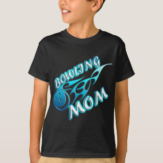 Bowling Mom (flame) copy.png T-Shirt