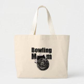 Bowling Mom Jumbo Tote Bag