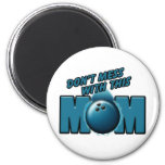 Bowling Mom Magnets