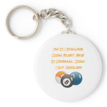 Bowling Mom Mother Day Gift Player Bowling Mama Keychain