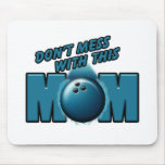 Bowling Mom Mouse Pad