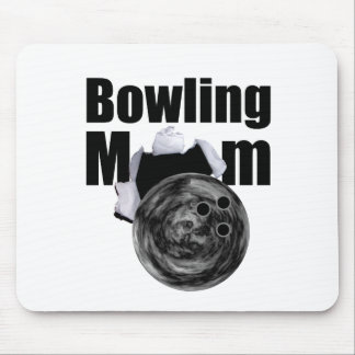Bowling Mom Mouse Pads
