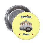Bowling Mom Pin