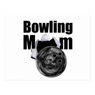Bowling Mom Postcard