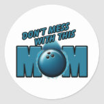 Bowling Mom Stickers