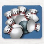Bowling Mouse Pads