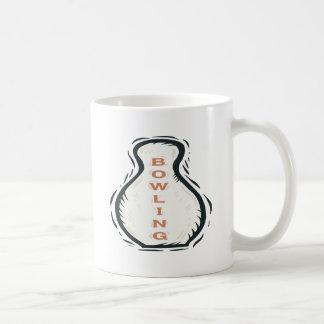 Bowling Classic White Coffee Mug