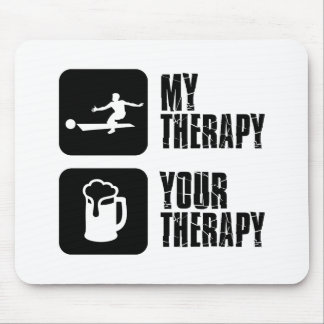 bowling my therapy designs mouse pad