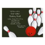 Bowling Night Invitation
