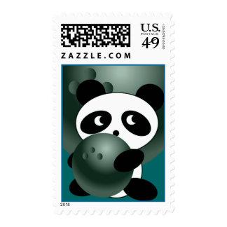 Bowling Panda Postage