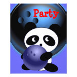 """Bowling Party 4.5"""" X 5.6"""" Flyer"""