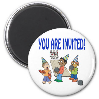 Bowling Party Magnet