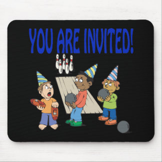 Bowling Party Mouse Pad