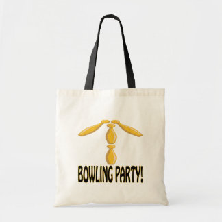 Bowling Party Tote Bag
