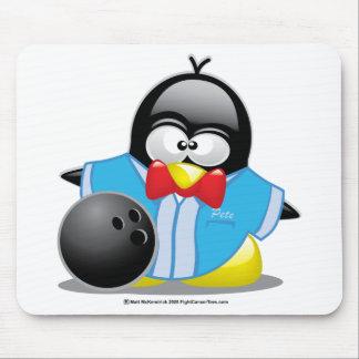 Bowling Penguin Mouse Pad