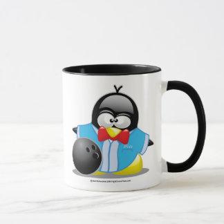 Bowling Penguin Mug