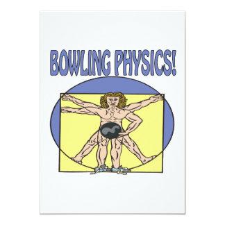 Bowling Physics Card