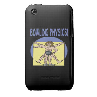 Bowling Physics Case-Mate iPhone 3 Case