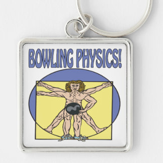 Bowling Physics Keychain