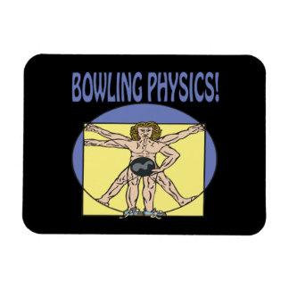 Bowling Physics Magnet